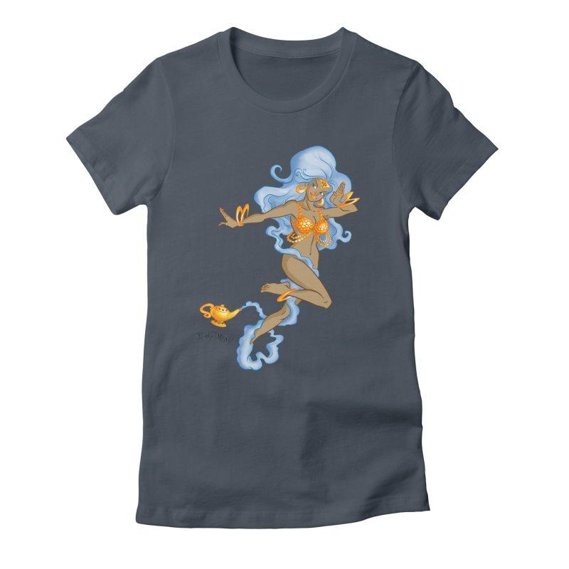 Genie Women's T-Shirt by Twin Comics's Artist Shop