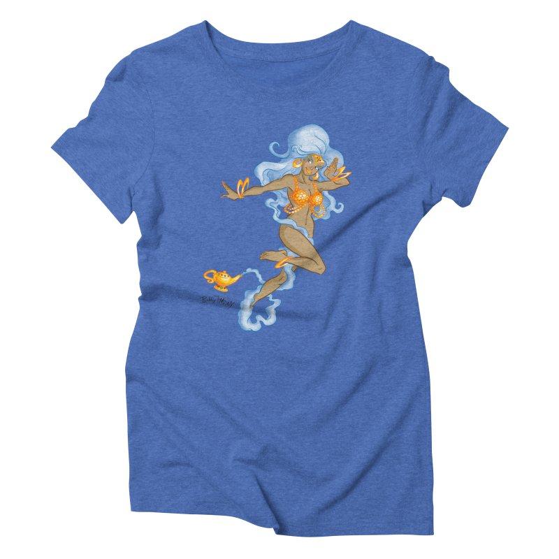 Genie Women's Triblend T-Shirt by Twin Comics's Artist Shop