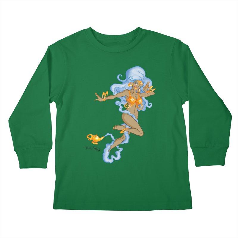 Genie Kids Longsleeve T-Shirt by Twin Comics's Artist Shop