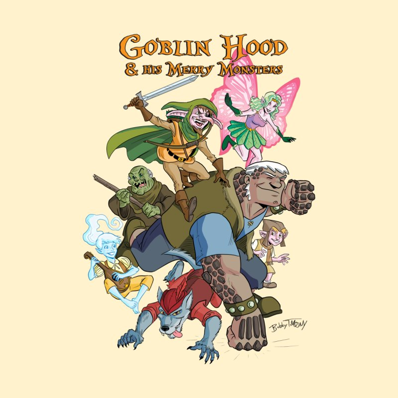 Goblin Hood & his Merry Monsters Kids Toddler T-Shirt by Twin Comics's Artist Shop