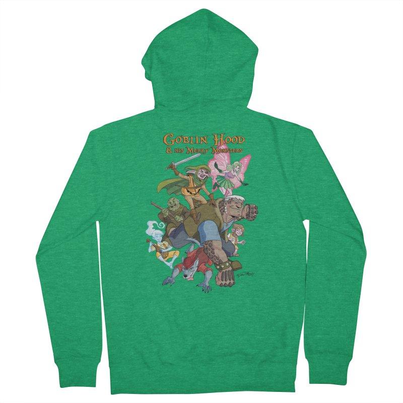 Goblin Hood & his Merry Monsters Men's Zip-Up Hoody by Twin Comics's Artist Shop
