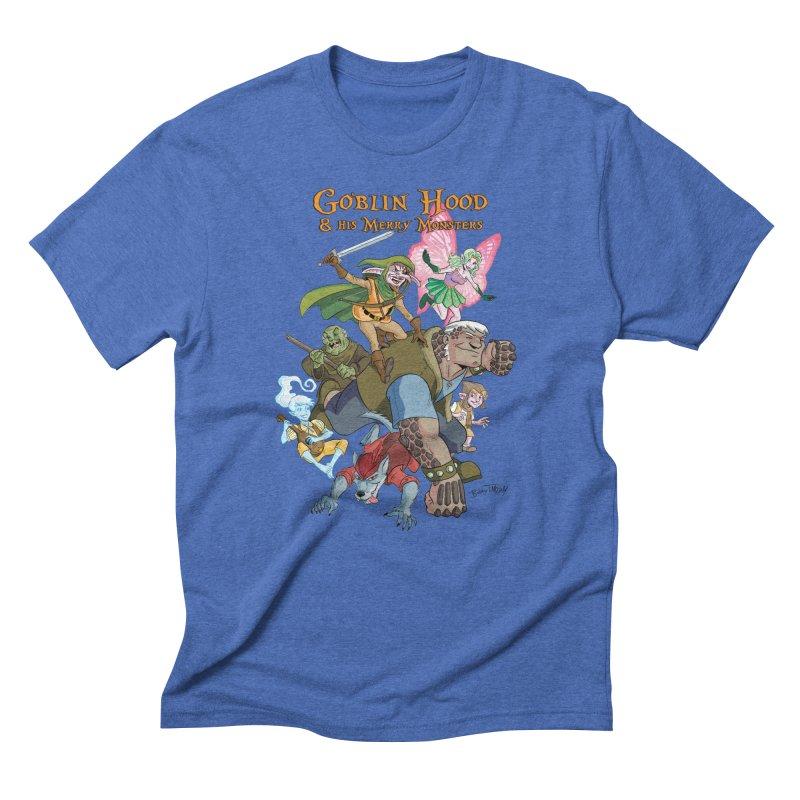 Goblin Hood & his Merry Monsters Men's T-Shirt by Twin Comics's Artist Shop