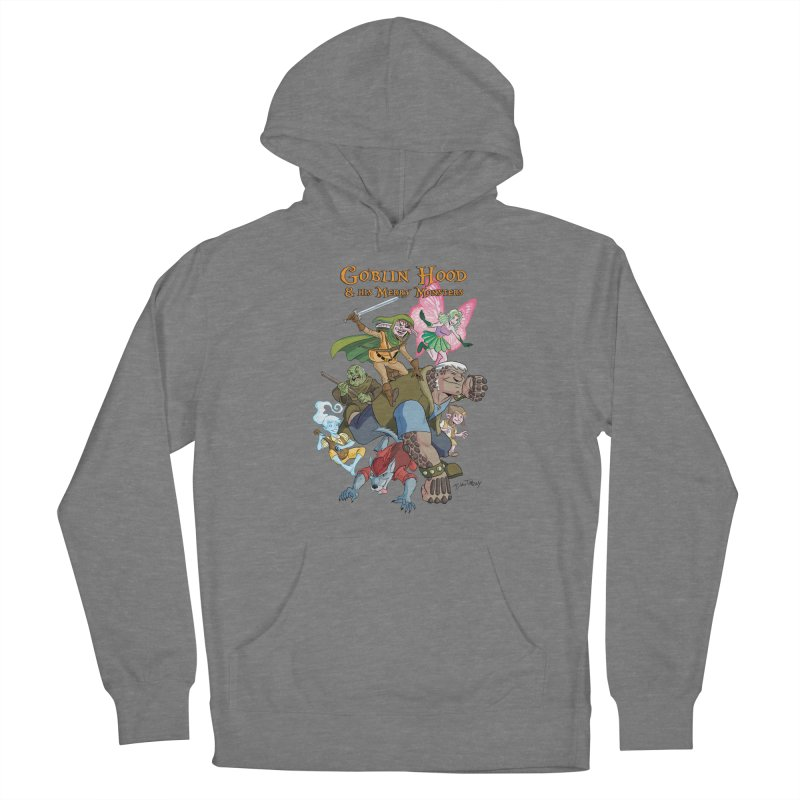 Goblin Hood & his Merry Monsters Women's Pullover Hoody by Twin Comics's Artist Shop