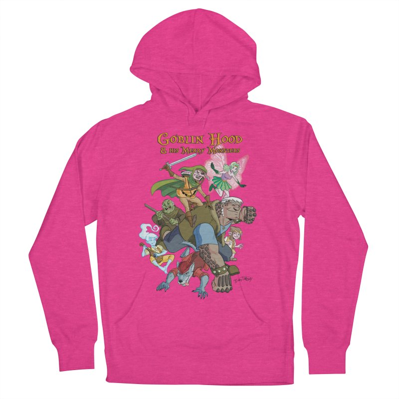 Goblin Hood & his Merry Monsters Women's French Terry Pullover Hoody by Twin Comics's Artist Shop