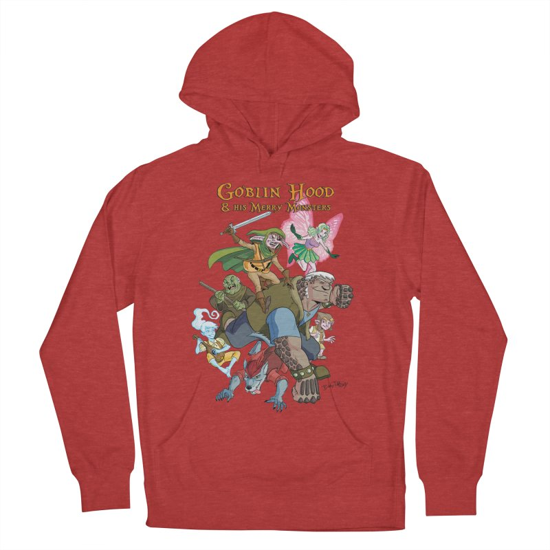 Goblin Hood & his Merry Monsters Men's French Terry Pullover Hoody by Twin Comics's Artist Shop