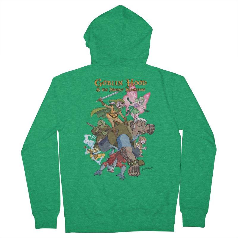 Goblin Hood & his Merry Monsters Women's French Terry Zip-Up Hoody by Twin Comics's Artist Shop