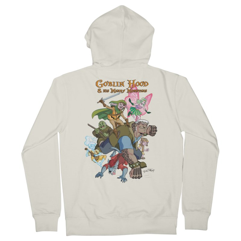 Goblin Hood & his Merry Monsters Women's French Terry Zip-Up Hoody by Twin Comics's Artist Shop