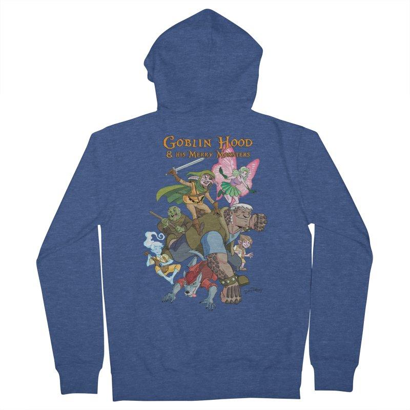 Goblin Hood & his Merry Monsters Men's French Terry Zip-Up Hoody by Twin Comics's Artist Shop