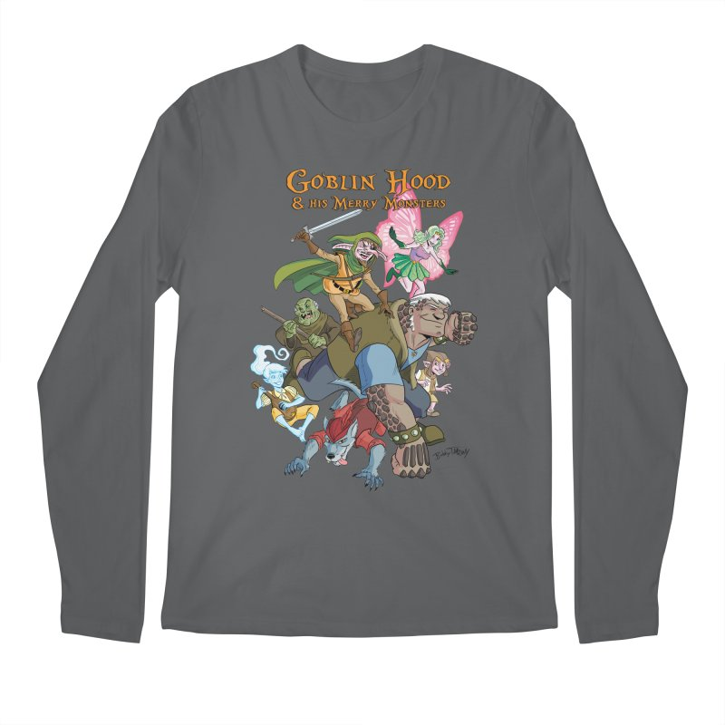 Goblin Hood & his Merry Monsters Men's Longsleeve T-Shirt by Twin Comics's Artist Shop
