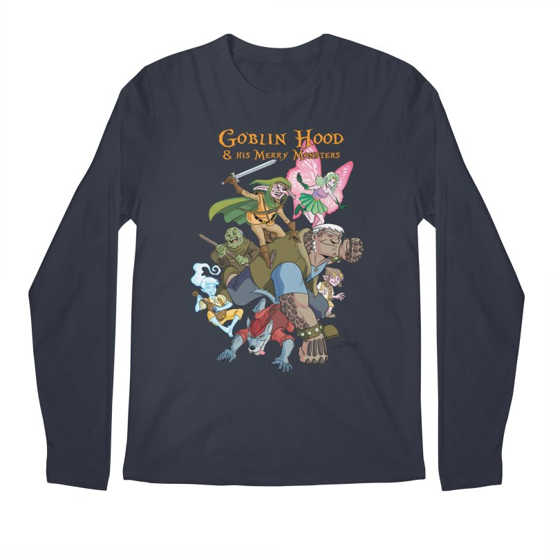 Goblin Hood & his Merry Monsters Men's Regular Longsleeve T-Shirt by Twin Comics's Artist Shop