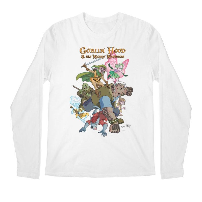 Goblin Hood & his Merry Monsters Men's Regular Longsleeve T-Shirt by Twin Comics's Artist Shop