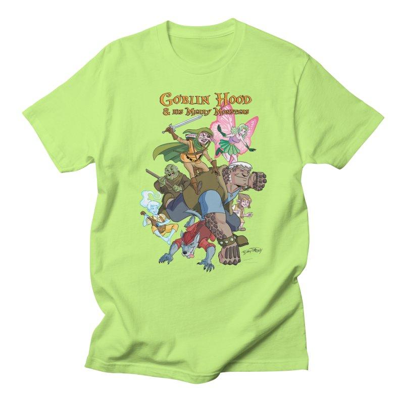 Goblin Hood & his Merry Monsters Men's Regular T-Shirt by Twin Comics's Artist Shop