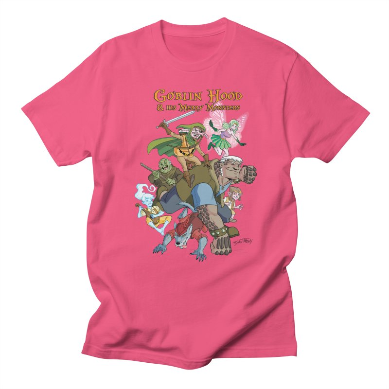Goblin Hood & his Merry Monsters Men's Regular T-Shirt by Twin Comics's Artist Shop