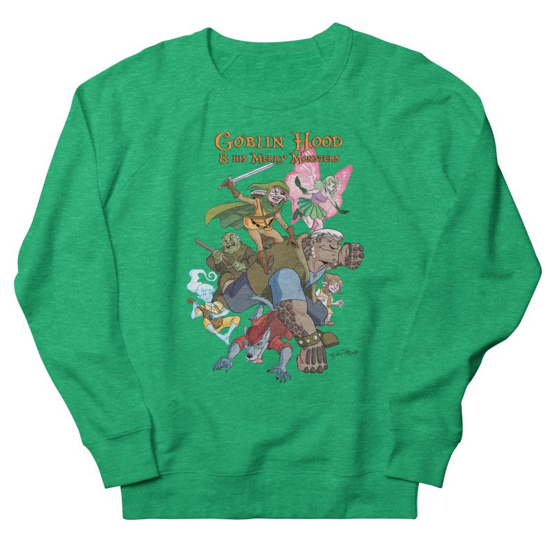 Goblin Hood & his Merry Monsters Women's Sweatshirt by Twin Comics's Artist Shop