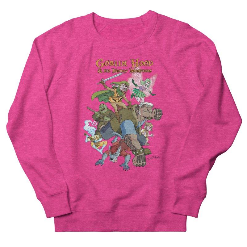 Goblin Hood & his Merry Monsters Women's French Terry Sweatshirt by Twin Comics's Artist Shop