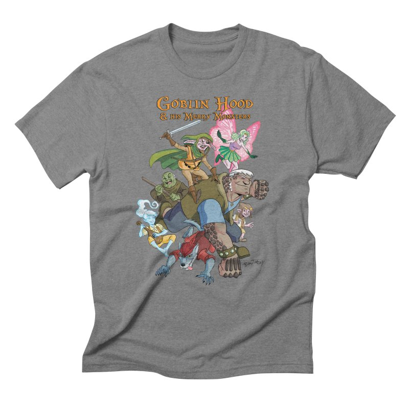 Goblin Hood & his Merry Monsters Men's Triblend T-Shirt by Twin Comics's Artist Shop