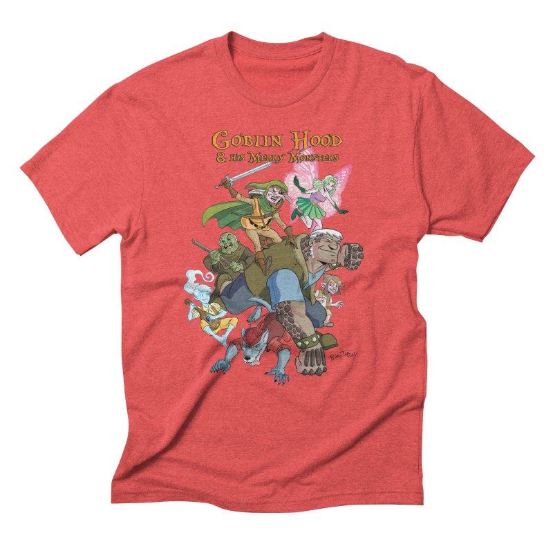 Goblin Hood & his Merry Monsters Men's Triblend T-Shirt by Twin Comics's Artist Shop