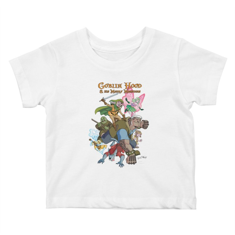 Goblin Hood & his Merry Monsters Kids Baby T-Shirt by Twin Comics's Artist Shop