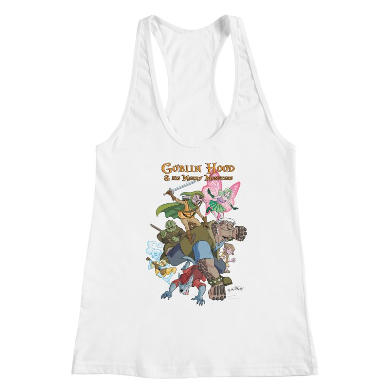 Goblin Hood & his Merry Monsters Women's Tank by Twin Comics's Artist Shop
