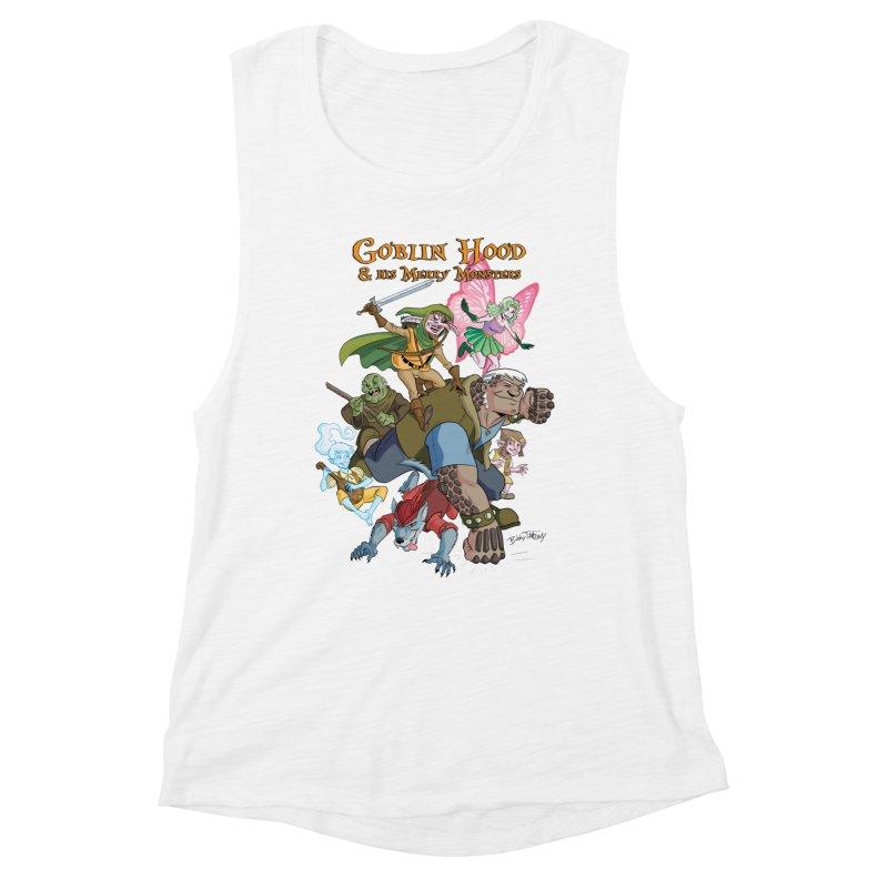 Goblin Hood & his Merry Monsters Women's Muscle Tank by Twin Comics's Artist Shop