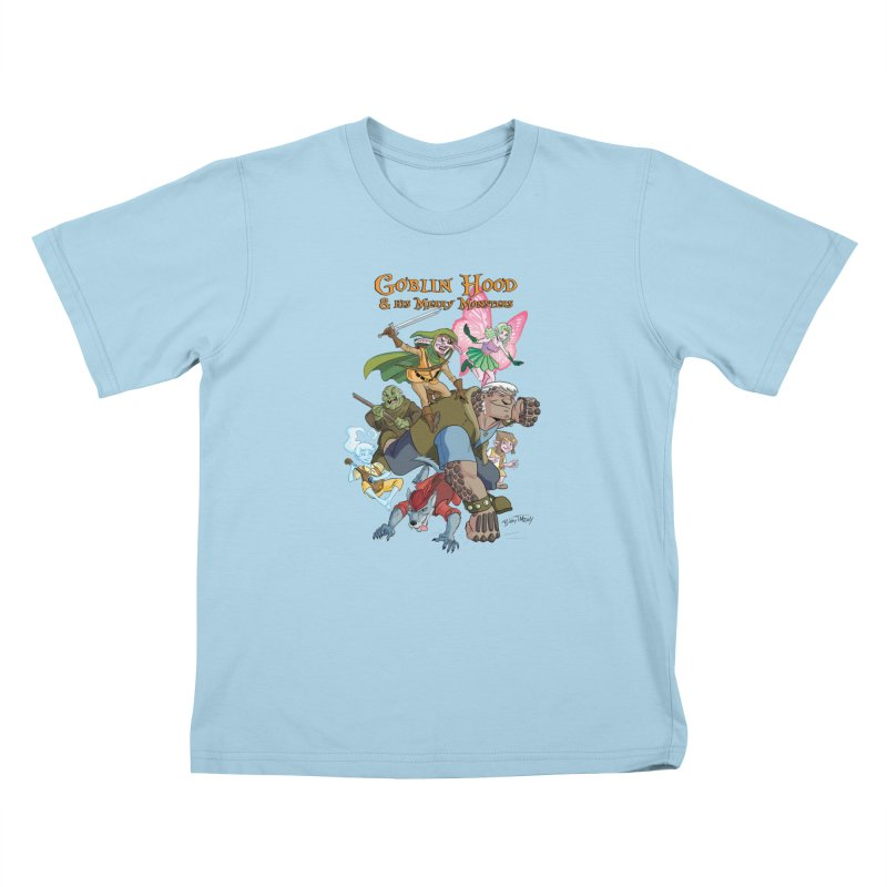 Goblin Hood & his Merry Monsters Kids T-Shirt by Twin Comics's Artist Shop