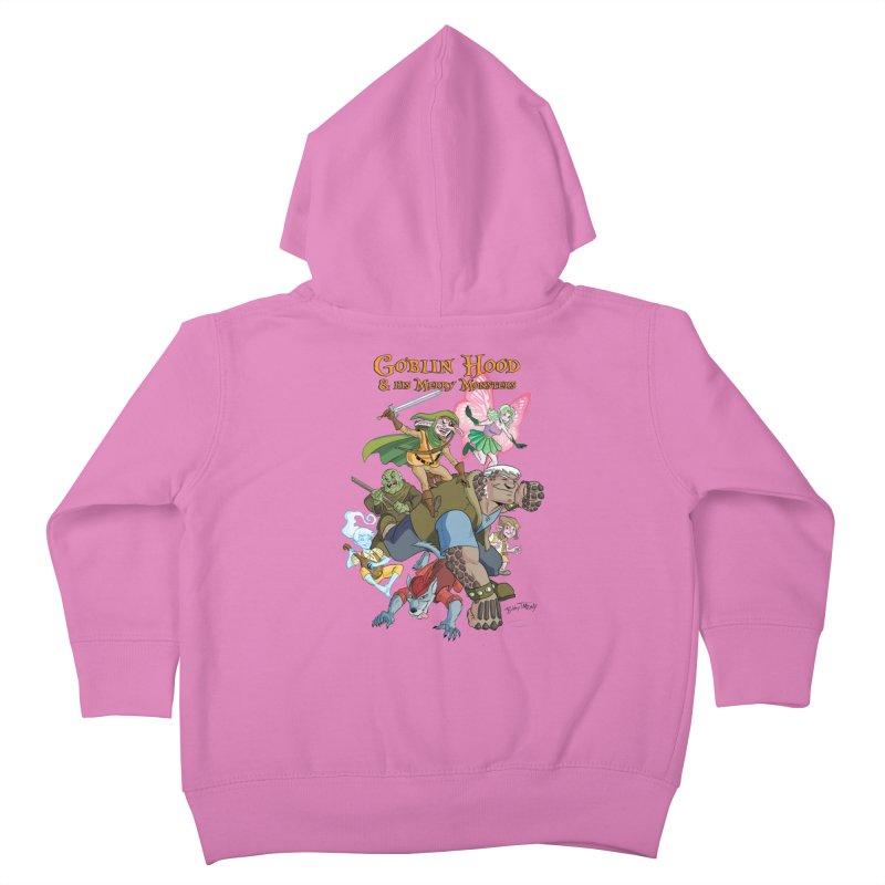 Goblin Hood & his Merry Monsters Kids Toddler Zip-Up Hoody by Twin Comics's Artist Shop