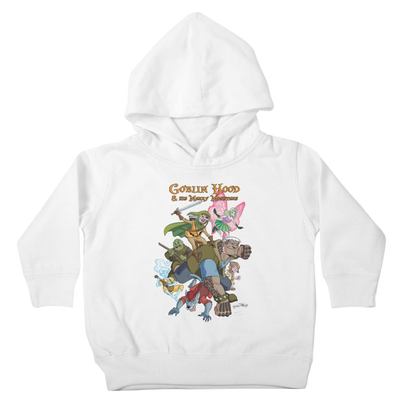 Goblin Hood & his Merry Monsters Kids Toddler Pullover Hoody by Twin Comics's Artist Shop