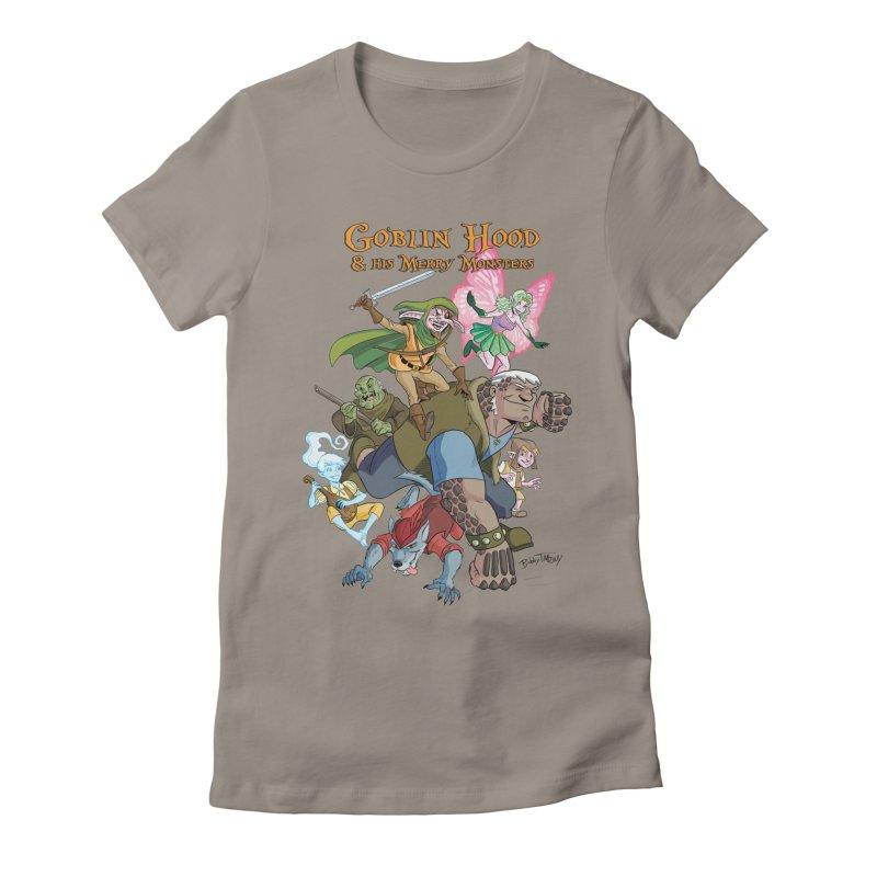 Goblin Hood & his Merry Monsters Women's T-Shirt by Twin Comics's Artist Shop