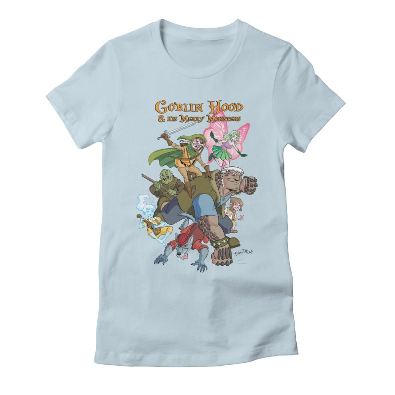 Goblin Hood & his Merry Monsters Women's T-Shirt by Twin Comics's Artist Shop