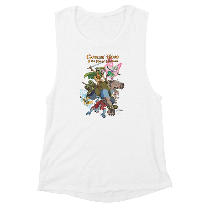 Goblin Hood & his Merry Monsters Women's Muscle Tank by Twin Comics's Artist Shop