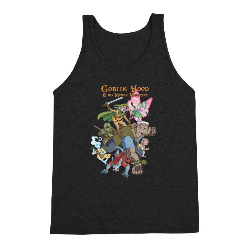 Goblin Hood & his Merry Monsters Men's Triblend Tank by Twin Comics's Artist Shop