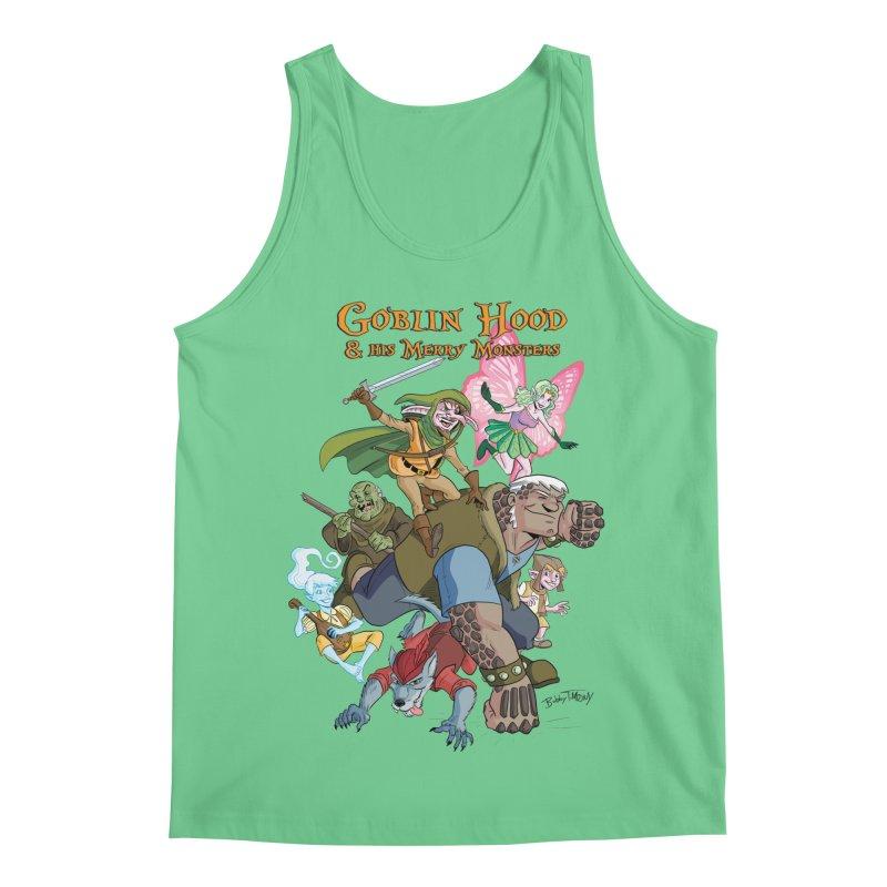 Goblin Hood & his Merry Monsters Men's Regular Tank by Twin Comics's Artist Shop