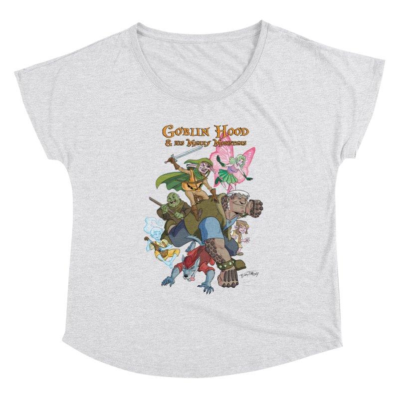 Goblin Hood & his Merry Monsters Women's Scoop Neck by Twin Comics's Artist Shop