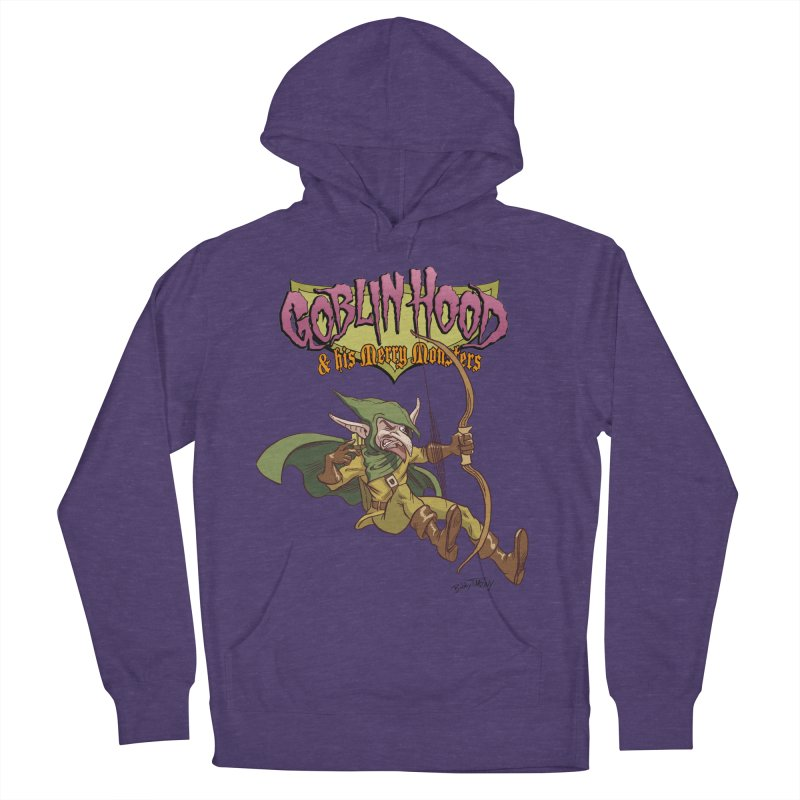 Goblin Hood Men's French Terry Pullover Hoody by Twin Comics's Artist Shop