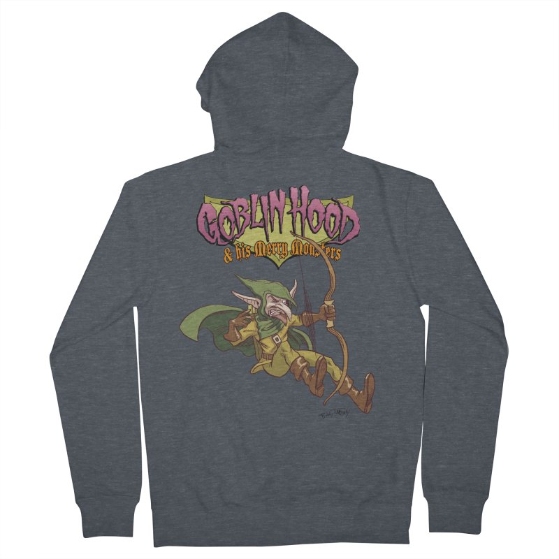 Goblin Hood Women's French Terry Zip-Up Hoody by Twin Comics's Artist Shop