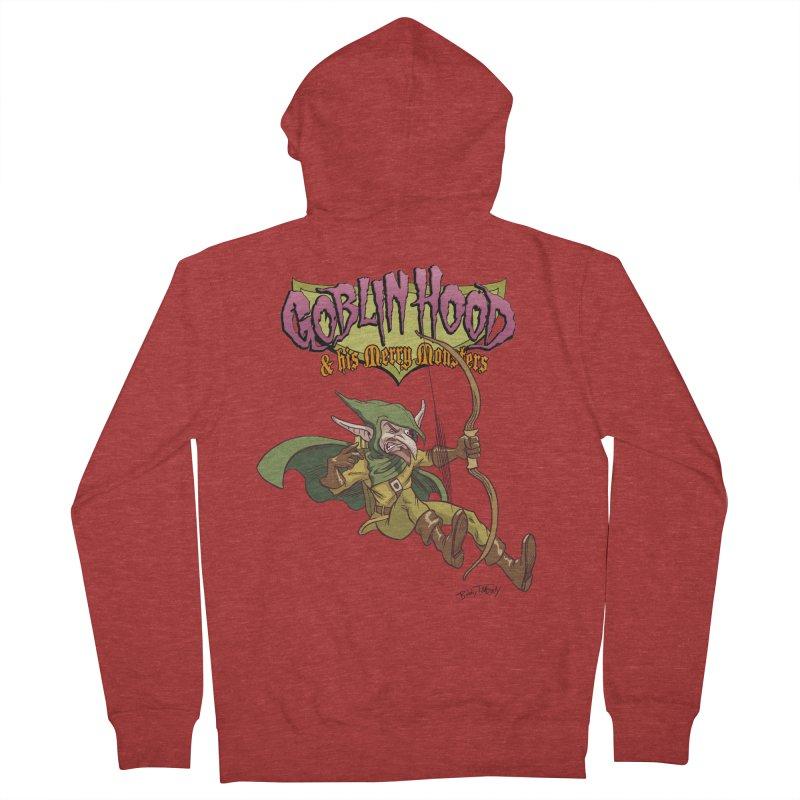 Goblin Hood Men's French Terry Zip-Up Hoody by Twin Comics's Artist Shop