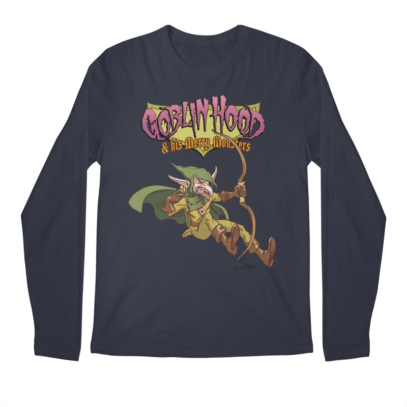 Goblin Hood Men's Regular Longsleeve T-Shirt by Twin Comics's Artist Shop