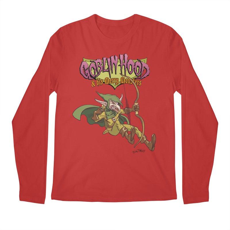 Goblin Hood Men's Regular Longsleeve T-Shirt by Twin Comics's Artist Shop