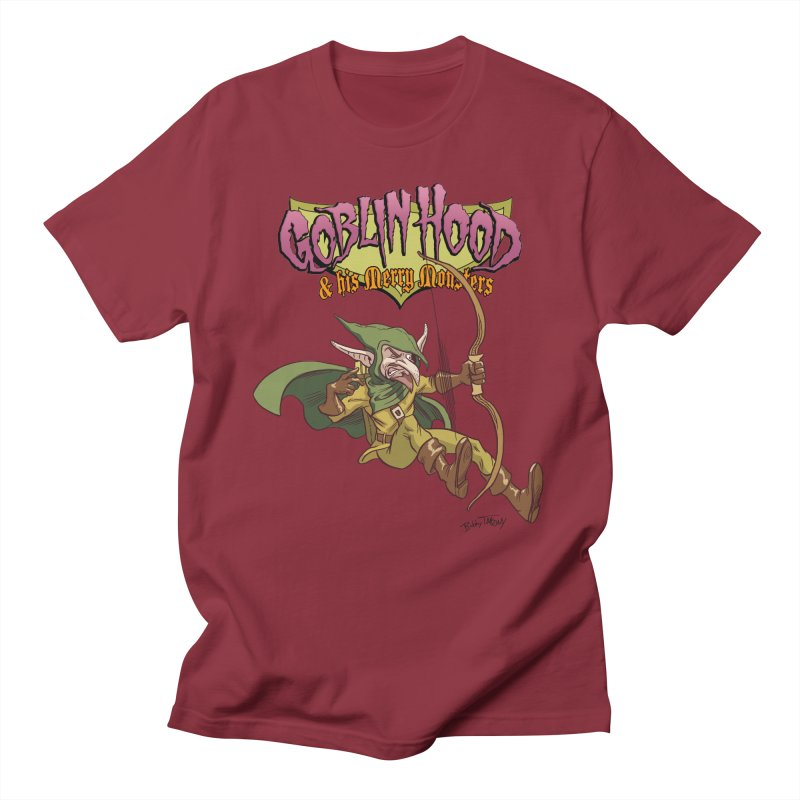 Goblin Hood Men's Regular T-Shirt by Twin Comics's Artist Shop