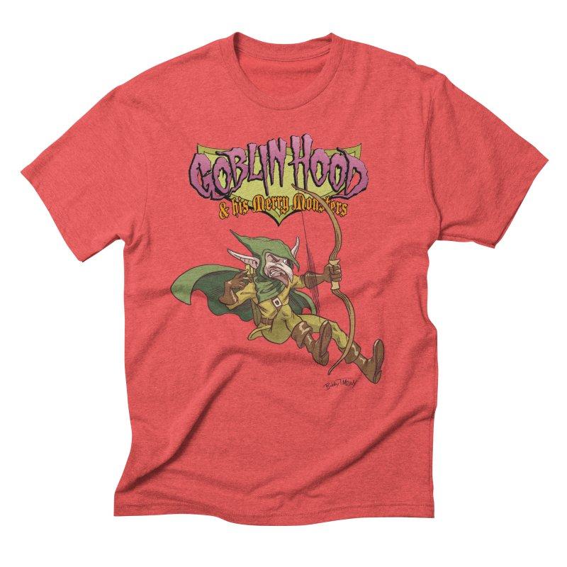 Goblin Hood Men's Triblend T-Shirt by Twin Comics's Artist Shop