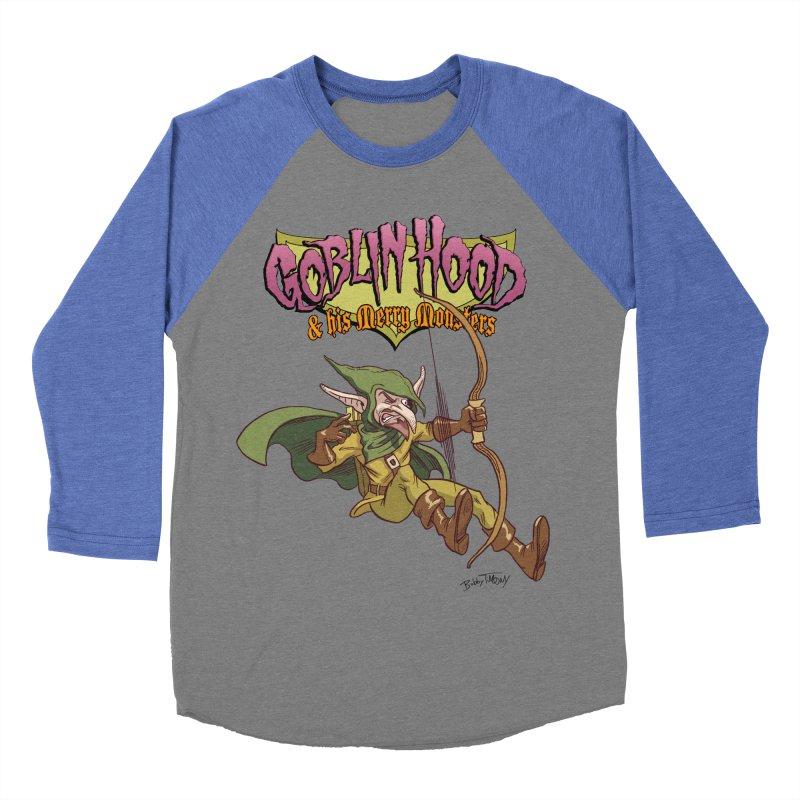 Goblin Hood Women's Baseball Triblend Longsleeve T-Shirt by Twin Comics's Artist Shop