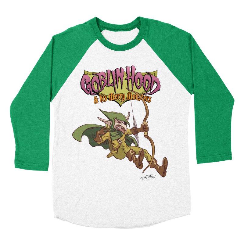 Goblin Hood Men's Baseball Triblend Longsleeve T-Shirt by Twin Comics's Artist Shop