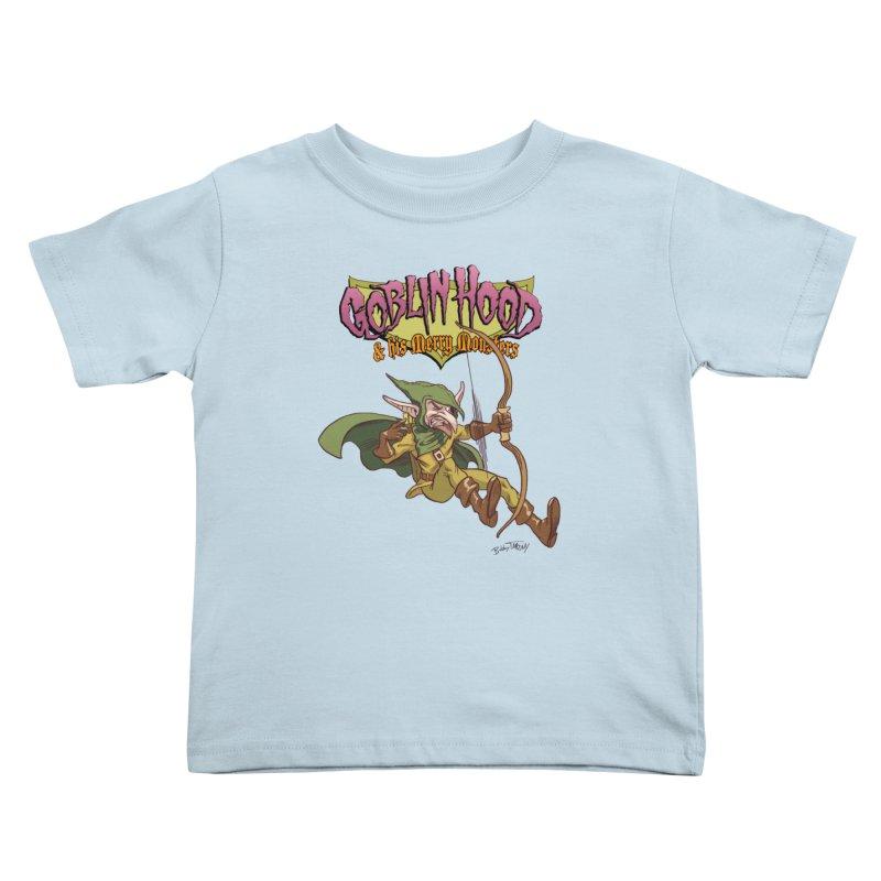 Goblin Hood Kids Toddler T-Shirt by Twin Comics's Artist Shop