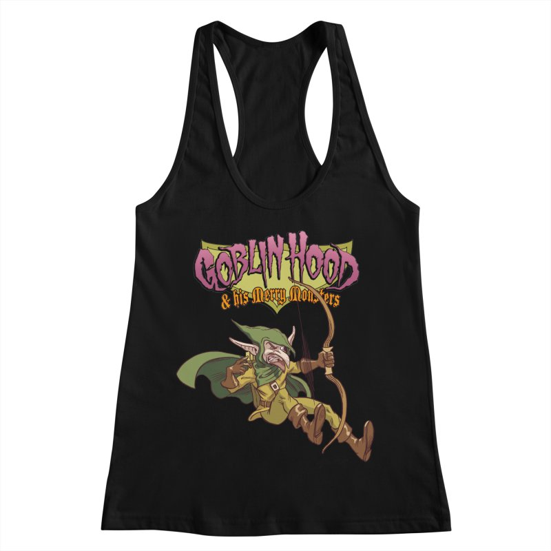 Goblin Hood Women's Racerback Tank by Twin Comics's Artist Shop