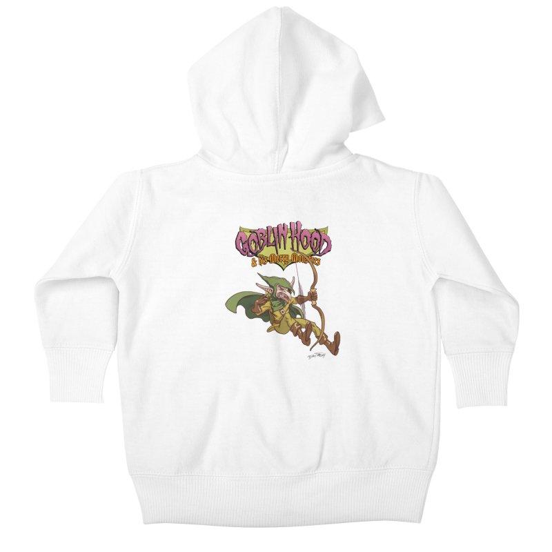 Goblin Hood Kids Baby Zip-Up Hoody by Twin Comics's Artist Shop