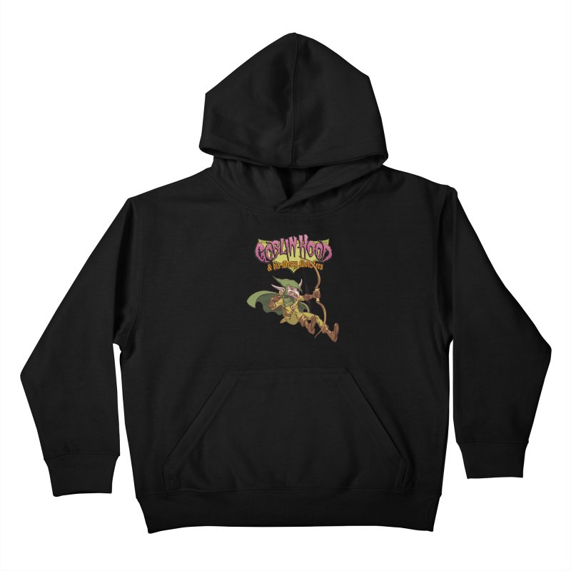 Goblin Hood Kids Pullover Hoody by Twin Comics's Artist Shop