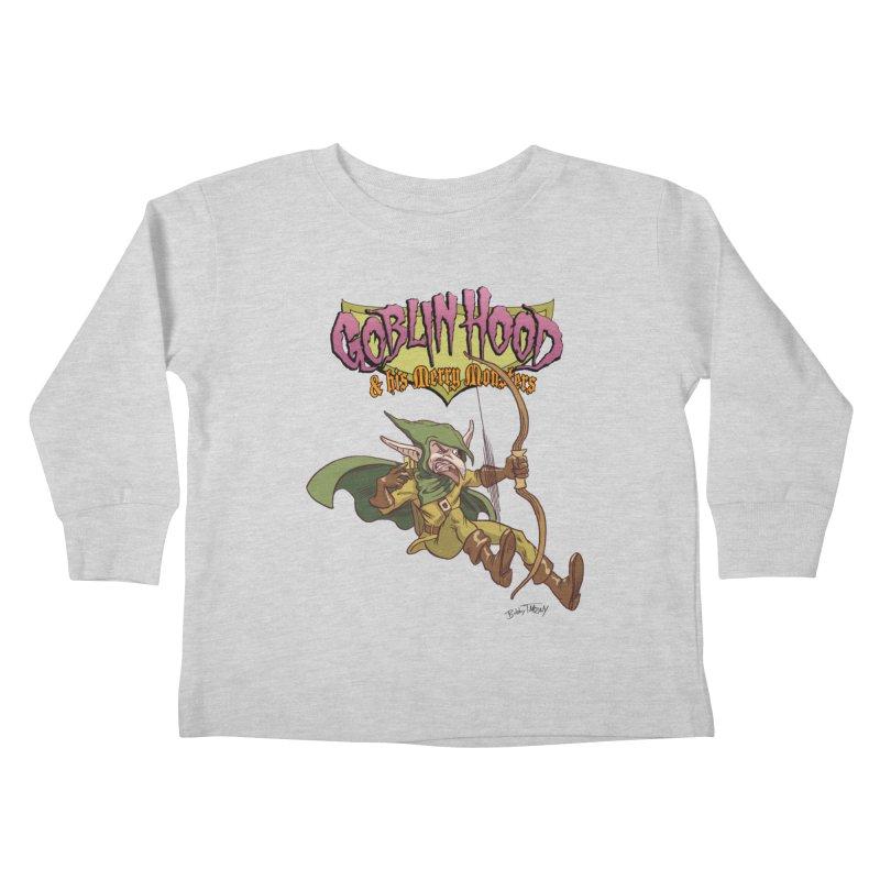 Goblin Hood Kids Toddler Longsleeve T-Shirt by Twin Comics's Artist Shop