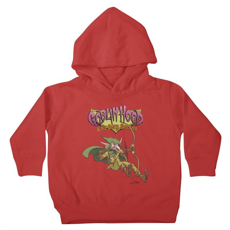 Goblin Hood Kids Toddler Pullover Hoody by Twin Comics's Artist Shop