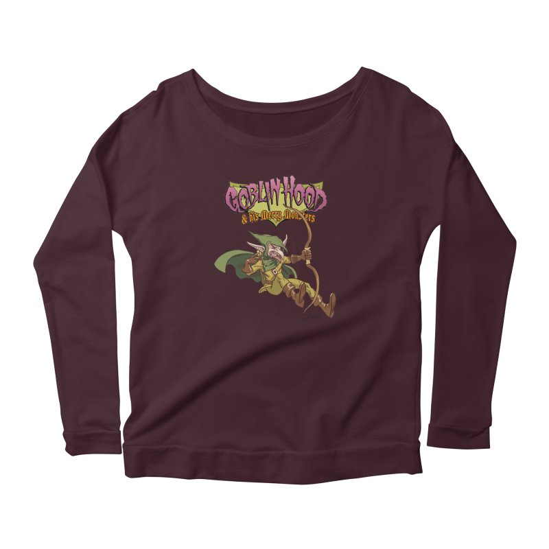 Goblin Hood Women's Longsleeve T-Shirt by Twin Comics's Artist Shop