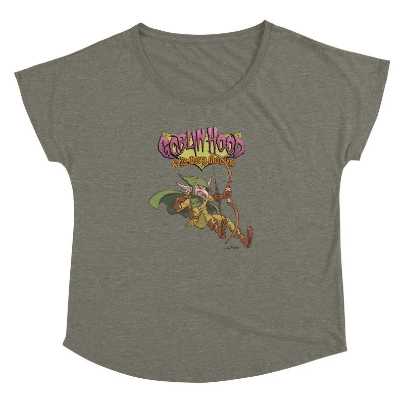 Goblin Hood Women's Dolman Scoop Neck by Twin Comics's Artist Shop